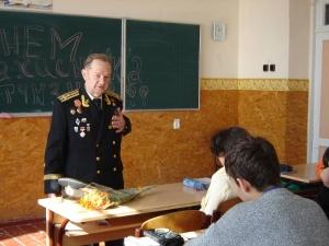 Ветераны в гостях у школьников