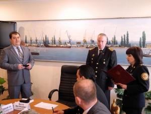 МЧС наградило начальника Измаильского порта
