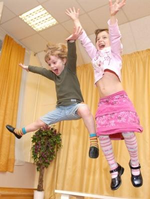 Гиперактивные дети .     Кто они?