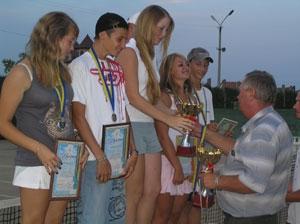 Городской турнир по теннису завершен