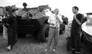 Лагерь сотрудников Госсслужбы по чрезвычайным ситуациям в окрестностях села Орловка, Ренийский район.