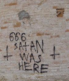 Опять сатанисты?
