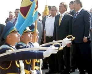 Измаильчанин из роты  Почетного караула Президента