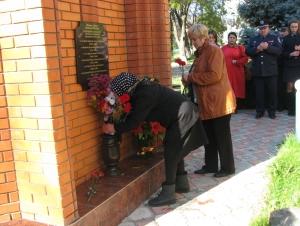 В милиции увековечили память погибших сотрудников