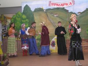 «Сорочинская ярмарка» в библиотеке