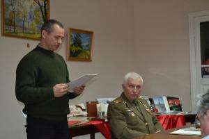 В библиотеке Котляревского вспоминали битву за Днепр