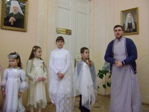 В Воскресной школе праздновали День святого Николая