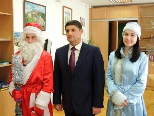 Измаильского мэра уже посетил Дед Мороз