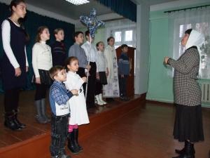 Христославы из воскресной школы