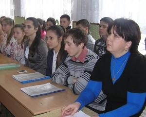Школьники неустанно говорят об Украине
