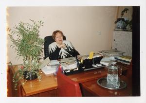 Ольга Сёмина. Женщина с радугой над головой