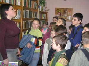 В книжкином доме ажиотаж