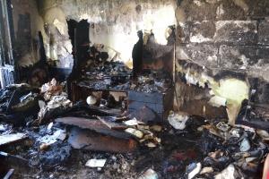 Во время пожара в жилой многоэтажке погиб пожилой человек