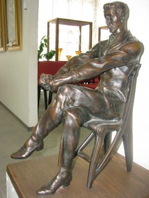 """""""Михаил Врубель"""" - третья скульптура уникальной коллекции"""