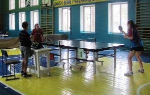 Клубная лига Украины по настольному теннису проходила у нас