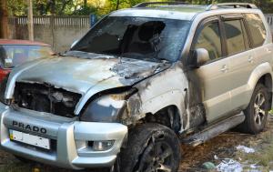 В Измаиле снова подожгли автомобиль