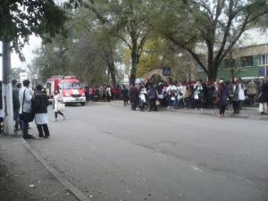 Пожарная тревога в медучилище