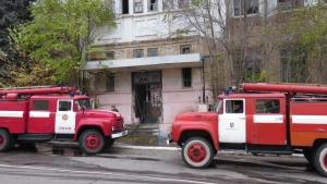 Пожар в великодержавной развалюхе, который мог закончиться большой бедой