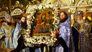 Праздник иконы «Благоуханный цвет» отметили по-новому