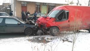 Зима началась масштабной автомобильной аварией