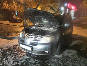Очередной поджог автомобиля - на этот раз пострадавшим оказался журналист