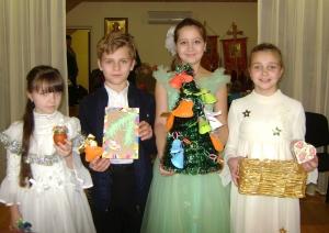 Выставка рукоделия в воскресной школе