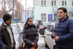 Народный депутат Александр Урбанский на округе