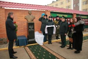 В Оршанецком учебном центре ГПСУ открыт памятник Игорю Момоту