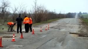 Начался ремонт автотрассы Одесса-Рени