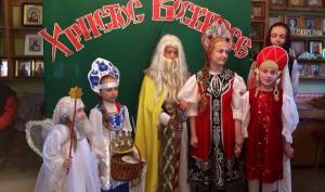 Пасхальный праздник в воскресной школе