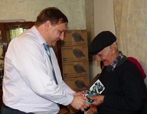В Придунавье поздравляли ветеранов Второй мировой