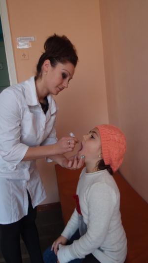 Началась дополнительная иммунизация против полиомиелита