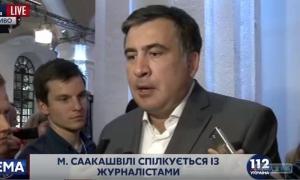"""Михаил Саакашвили: """"Я смогу продержаться ещё шесть месяцев"""""""