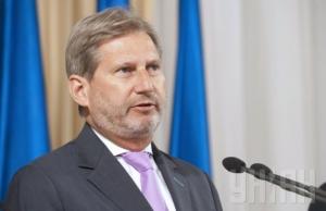 Евросоюз поддержит безвизовый режим с Украиной — еврокомиссар Ган