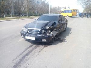 "Тройное ДТП на перекрестке: пострадала пассажирка ""пятого"" маршрута"