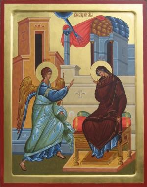 7 апреля - двунадесятый праздник Благовещения