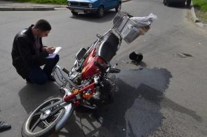 Смертельное ДТП: мотоцикл столкнулся с иномаркой