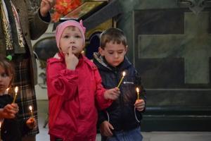 Дети вознесли молитвы великому пророку