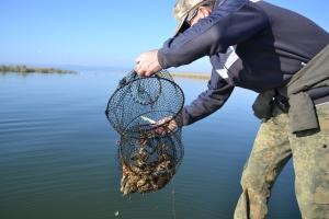 Второй день запрета рыбной ловли на Кугурлуе