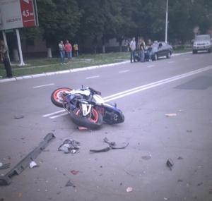 26-летний мотоциклист погиб в результате ДТП