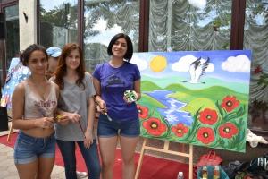 Детей объединили творчество и Дунай