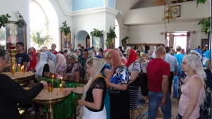 В Измаиле на Троицу молились о спасении города