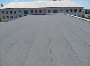 Озернянская школа под новой крышей