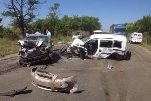 В аварии на трассе Одесса-Рени пострадал 21 человек