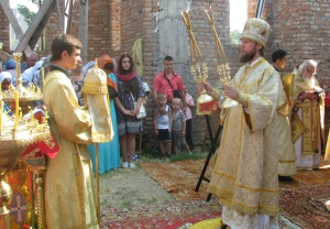 Храмовый праздник отметила церковь Святого Илии