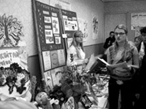 Городская выставка  на Станции юных натуралистов