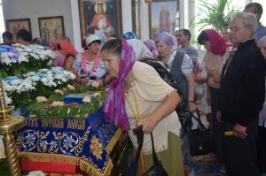 Успение Богородицы: престольный праздник в храме Свято-Николаевской обители
