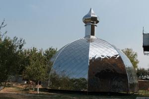 Над церковью Иоанна Богослова засияет новый купол