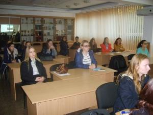 "В ИГГУ состоялся учебный тренинг ""Можливості для молоді"""