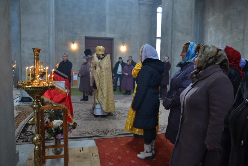 В храме Георгия Победоносца - новоселье